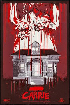 Carrie movie poster.