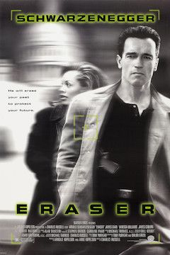 Eraser movie poster.