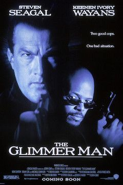 The Glimmer Man movie poster.