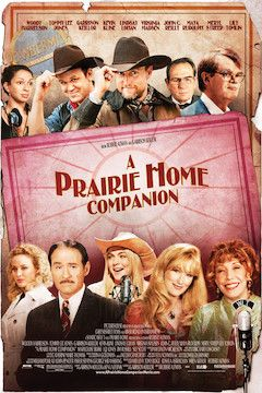 A Prairie Home Companion movie poster.