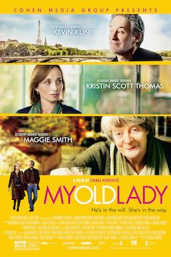 My Old Lady movie poster.
