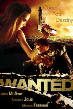 Wanted movie poster.