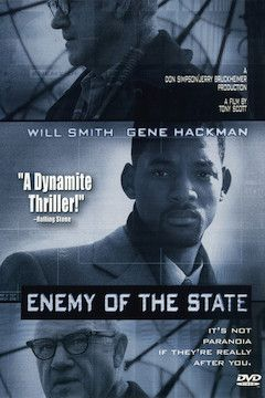 Enemy of the State movie poster.