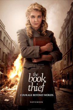 The Book Thief movie poster.
