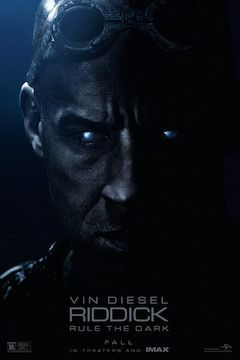 Riddick movie poster.