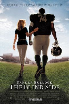 The Blind Side movie poster.