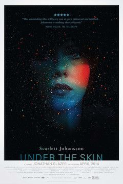 Under the Skin movie poster.