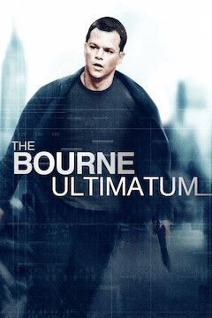 Poster for the movie The Bourne Ultimatum