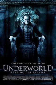 Underworld: Rise of the Lycans movie poster.