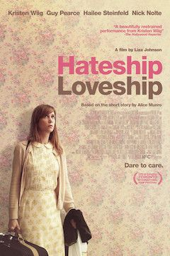 Hateship Loveship movie poster.