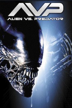 AVP: Alien vs. Predator movie poster.
