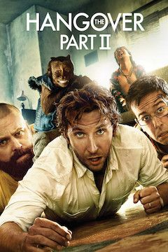 The Hangover Part II movie poster.