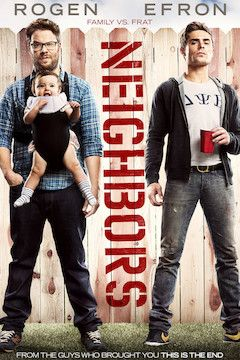 Neighbors movie poster.