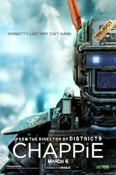 Chappie movie poster.