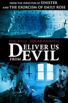 Deliver Us From Evil movie poster.