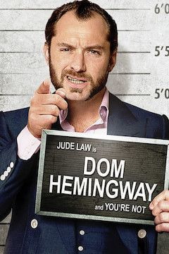 Dom Hemingway movie poster.