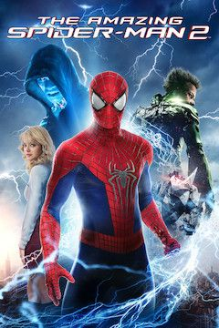 The Amazing Spider-Man 2 movie poster.