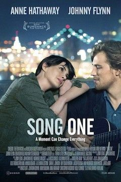 Song One movie poster.