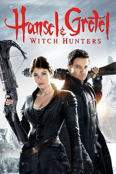 Poster for the movie Hansel and Gretel: Witch Hunters