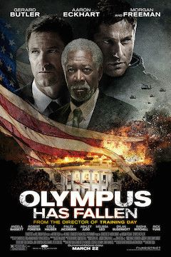 Olympus Has Fallen movie poster.