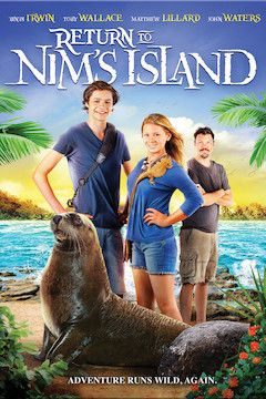 Return to Nim's Island movie poster.