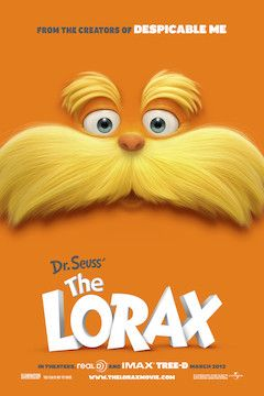 The Lorax movie poster.