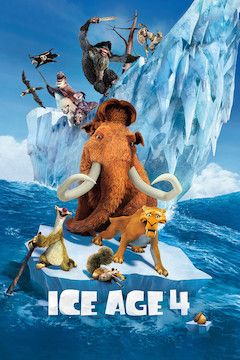 Ice Age: Continental Drift movie poster.