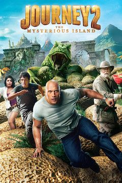 Journey 2: The Mysterious Island  movie poster.