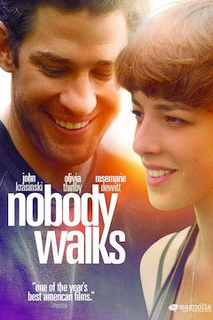 Nobody Walks movie poster.