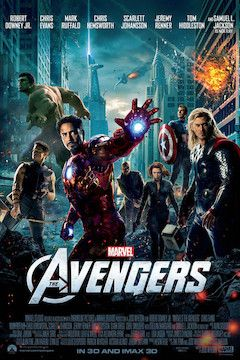 Poster for the movie The Avengers