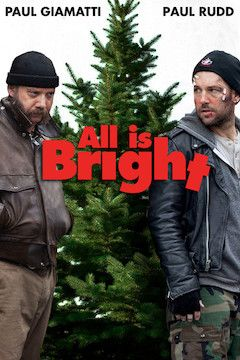 All Is Bright movie poster.
