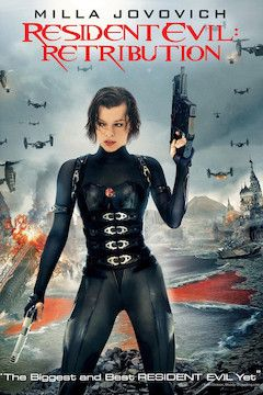 Resident Evil: Retribution movie poster.
