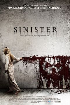 Sinister movie poster.