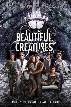 Beautiful Creatures movie poster.