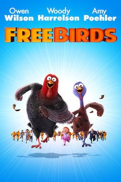 Free Birds movie poster.