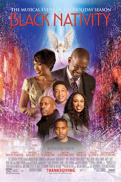 Black Nativity movie poster.
