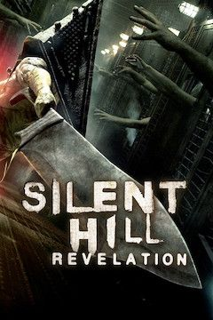 Silent Hill: Revelation 3D movie poster.