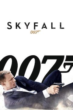 Skyfall movie poster.