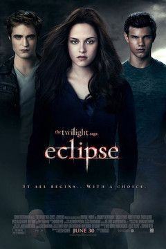 The Twilight Saga: Eclipse movie poster.