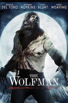 The Wolfman movie poster.