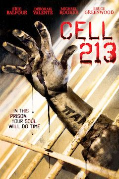 Cell 213 movie poster.