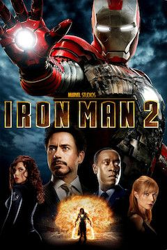 Iron Man 2 movie poster.