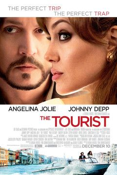 Poster for the movie The Tourist
