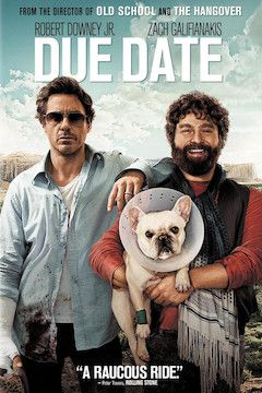 Due Date movie poster.