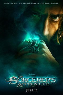 The Sorcerer's Apprentice movie poster.