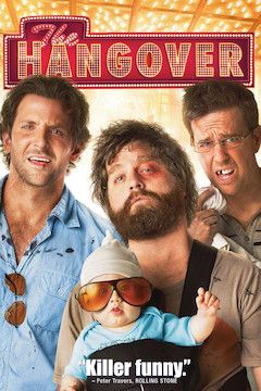 Poster for the movie The Hangover