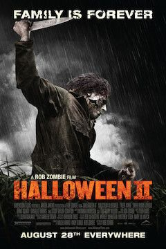 Halloween 2 movie poster.