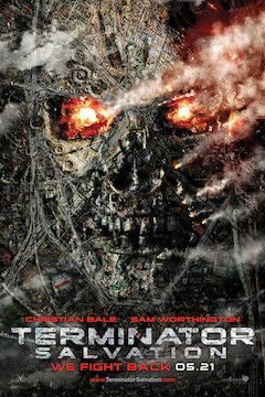 Terminator Salvation movie poster.