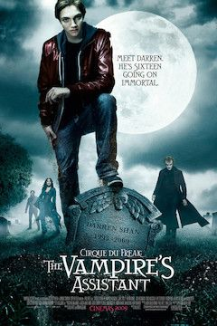 Cirque Du Freak: The Vampire's Assistant movie poster.