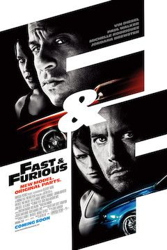 Fast and Furious movie poster.
